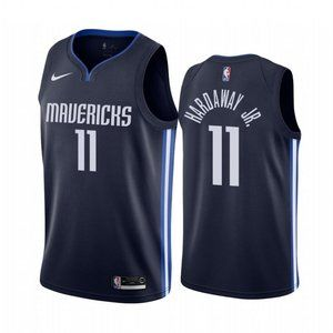 Dallas Mavericks Tim Hardaway Jr. Navy Jersey